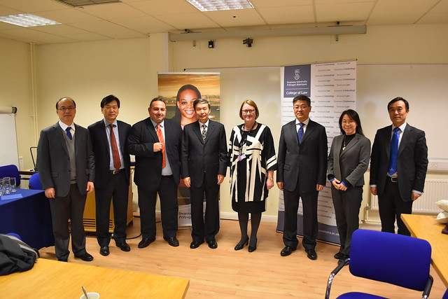 Visit from the Vice Minister of Transport of PR China,