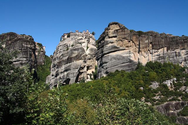 Meteora - holy wonder of the world. Greece. (series)