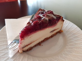 Cherry Cheesecake from Mr Nice Guy's Bakery