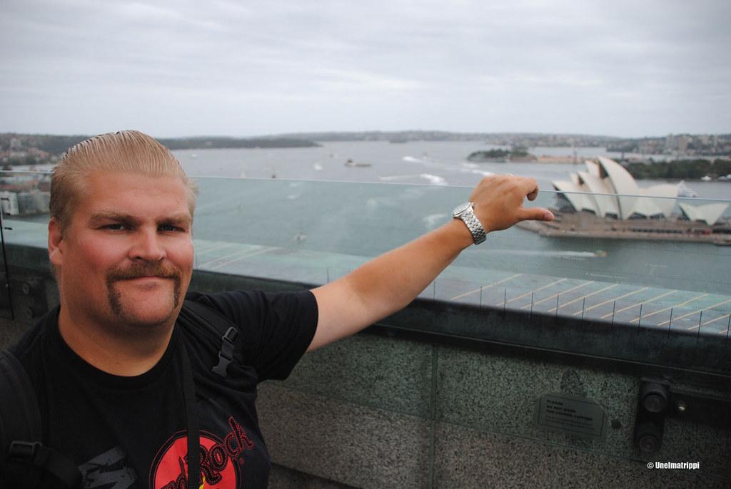 Hemmo Sydney Harbour Bridgen Pylon Lookoutilla Sydneyssä, Australiassa