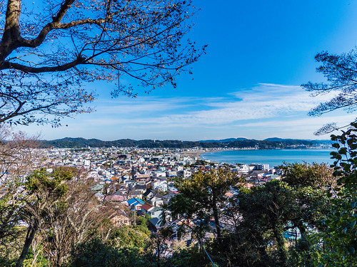 Scenery from Hase-dera Observatory