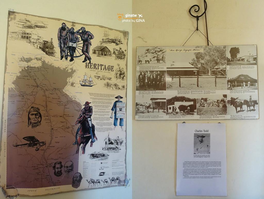 澳洲北領地》愛麗斯泉電報站歷史保護區(Alice Springs Telegraph Station Historical Reserve) @Gina Lin