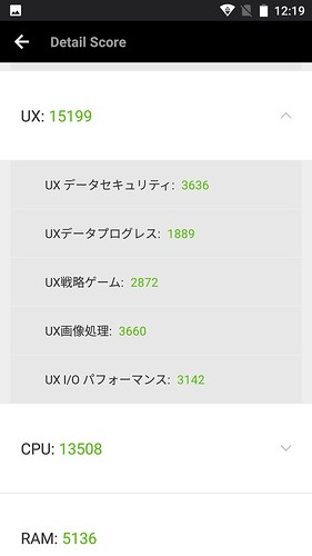 CUBOT Note Plus ベンチマークテスト編 (11)