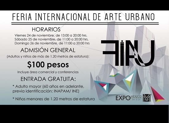 2017.11.26 Primer Feria Internacional de Arte Urbano