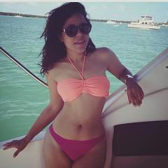 Lizé Santana boat sail