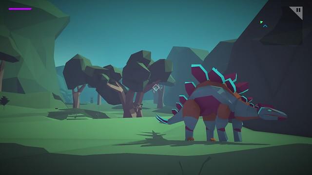 모프 라이트 - 공룡