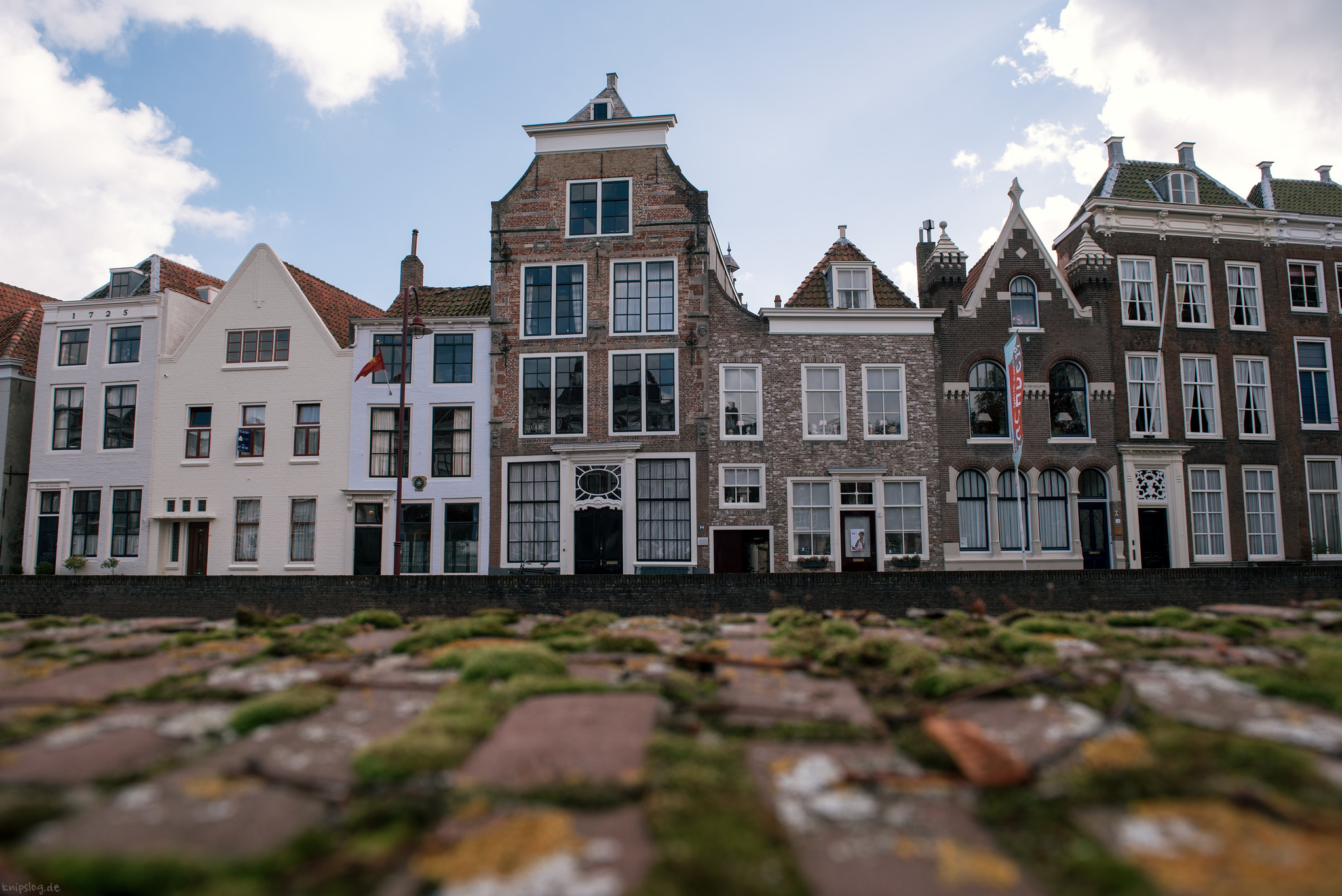 Typical houses in Zeeland