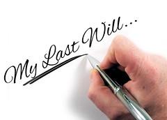 Online wills?