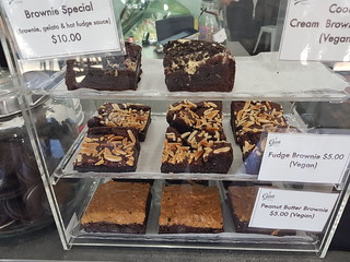 Vegan Brownies at Ciao Gelato