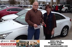 #HappyBirthday to Cindy from Eric Dotson at McKinney Buick GMC!