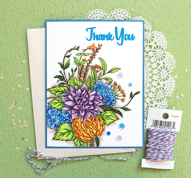 Altenew-Blooming Boquet Adore You Artist Markers Set A B C-SuzyPlantamura