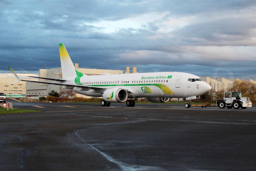 Boeing 737 MAX 8 Mauritania Airlines 5T-CLJ LN6704