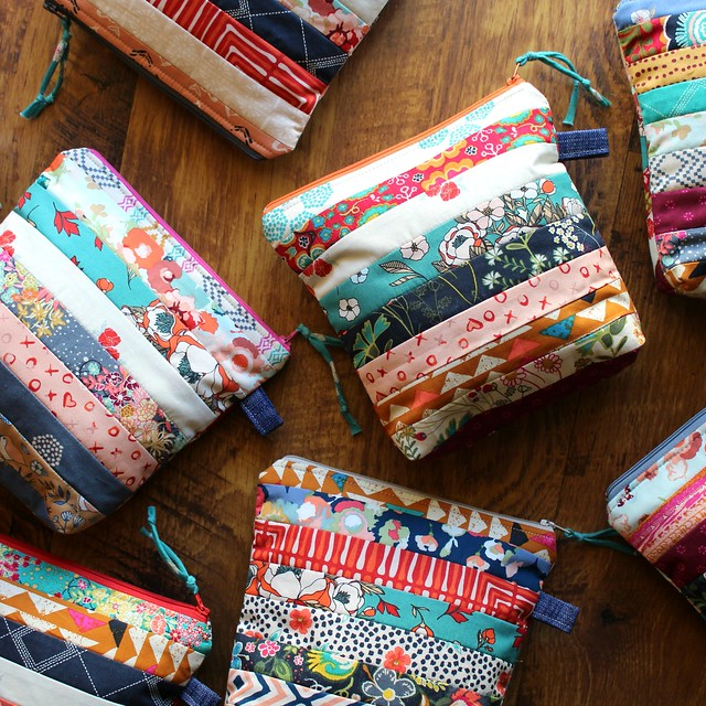 Love Story & Indie Folk Zip Pouches