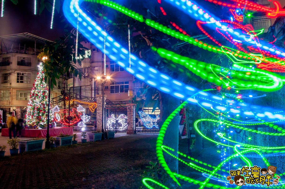 鳳山最美教堂聖誕景點-16
