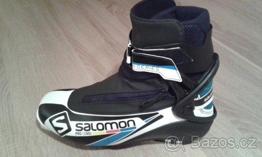 Běž. boty Salomon PRO COMBI 16 17 Black fbee65b0ae