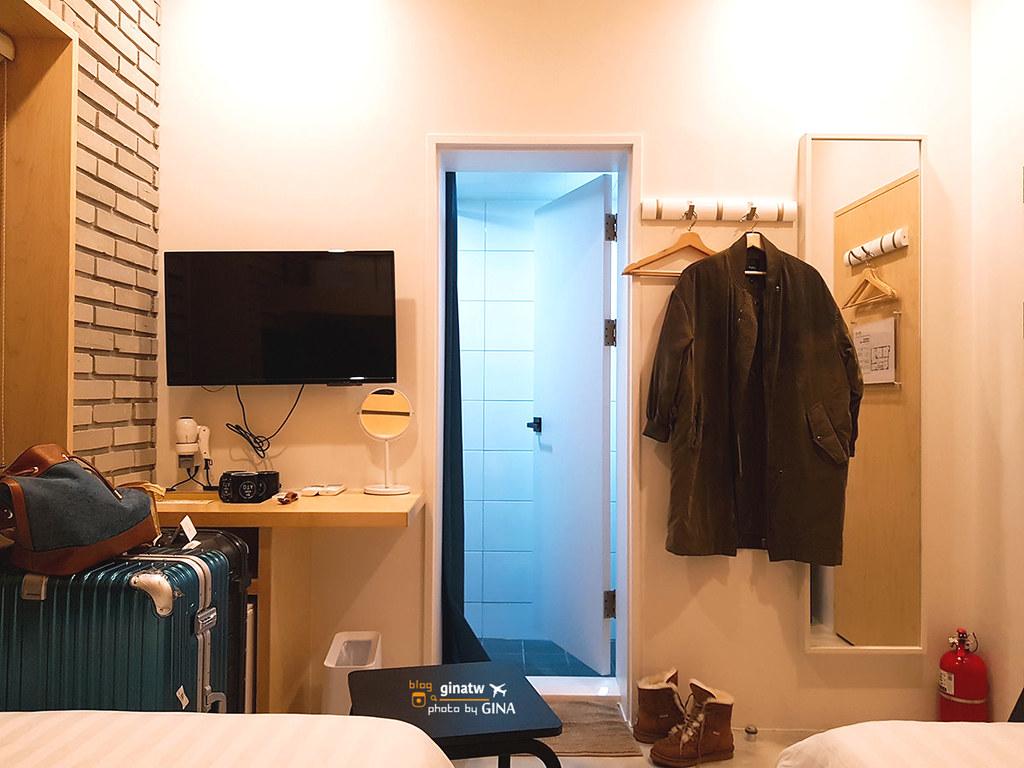 【首爾住宿】韓國弘大|獨棟住宿 Baroato(바로아토)時尚工業現代大理石地板二號店+復古文青氣息一號店 @GINA旅行生活開箱