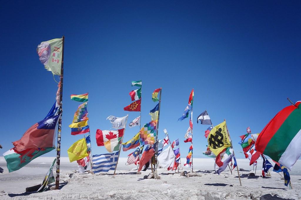 Uyuni - Salar - Flag 4