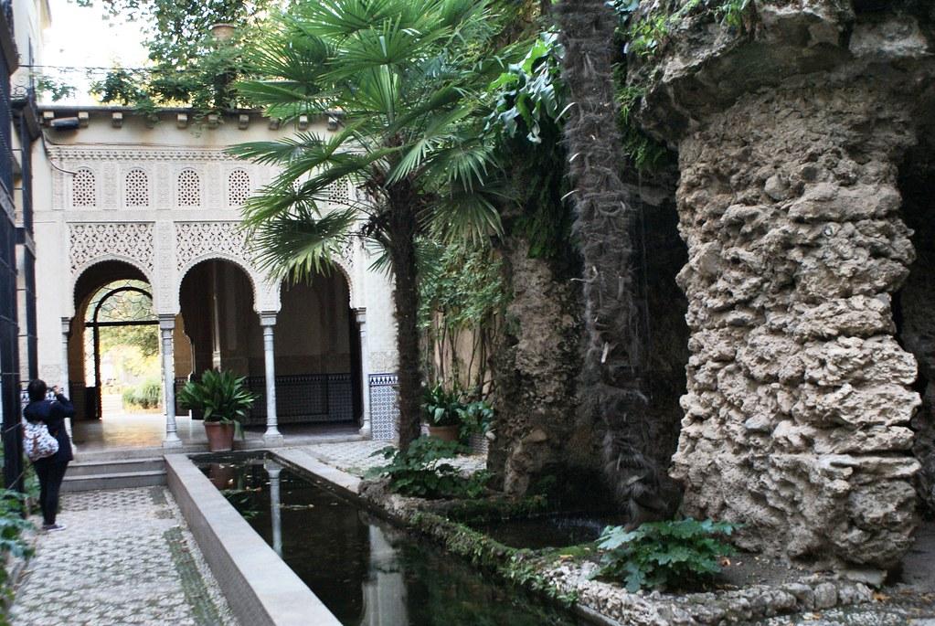 Jardin de Carmen de los Martires à Grenade.