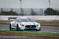 Black Falcon Mercedes AMG GT3 Blancpain Endurance Series Silverstone 2017 Sportscar Racing News