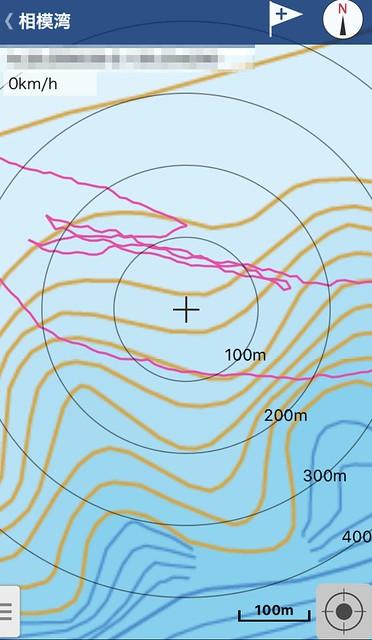 海釣図 - GPSログ
