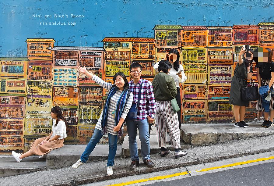 香港景點 舊城中環彩繪牆07