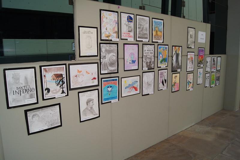 La Facultad de Medicina humana realizó el mes de las Letras-  Pintura