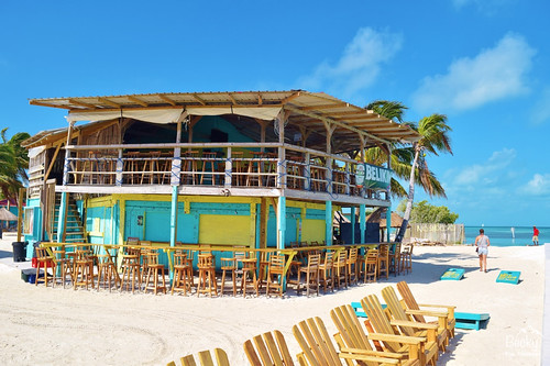 Caye Caulker Belize - listen to all the rumours from locals in Caye Caulker Belize how this was created