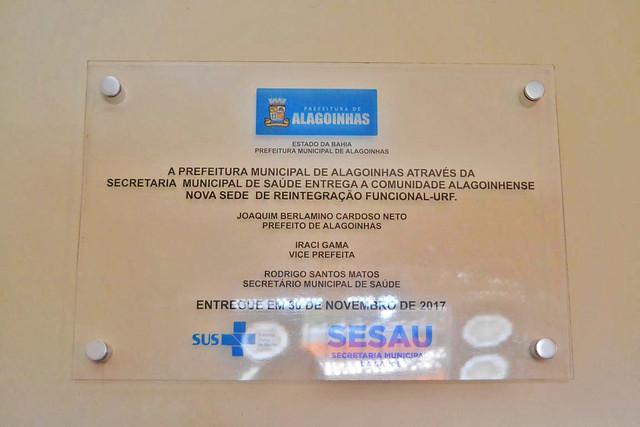 Inauguração da nova sede da Unidade de Reintegração Funcional