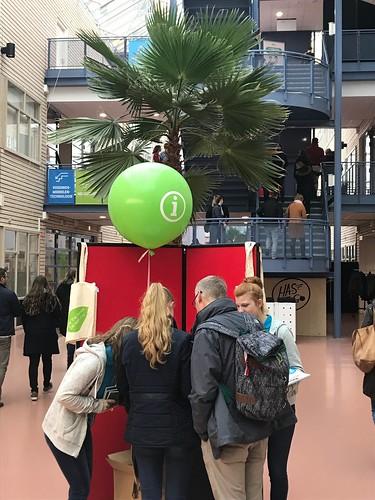 Cloudbuster Rond Open Dag HAS Hoge School 's Hertogenbosch