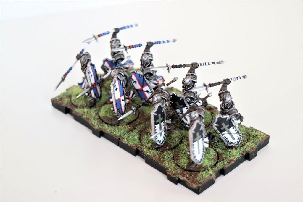 Runewars Miniatures Daqan Spearmen