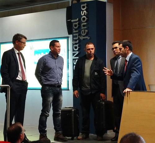 Unión Fenosa Distribución premia a COMSA Industrial