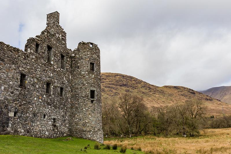Kilchurn Castle - Lochawe - Ecosse 2017