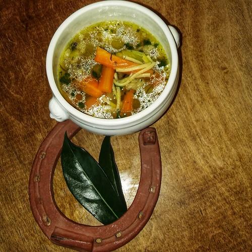Soupe heureux! Lucky soup! Sopa feliz! Glücks Suppe!