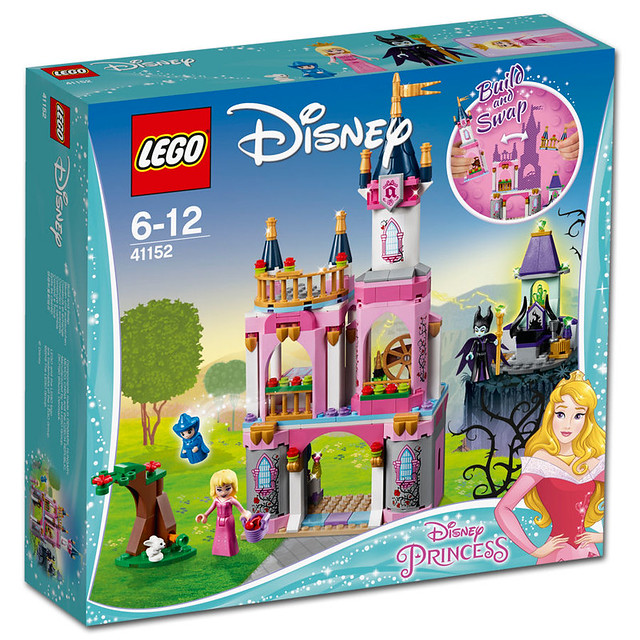41152 Sleeping Beauty's Fairytale Castle