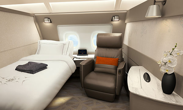 Singapore Airlines A380 First Class Suite (Airbus)