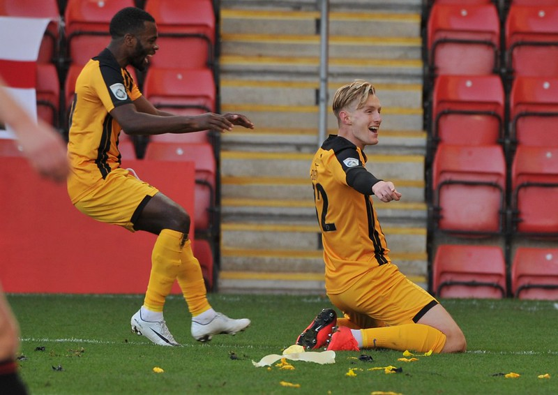 F.A.Cup 1st Rouind: Cheltenham Town 2-4 Maidstone United