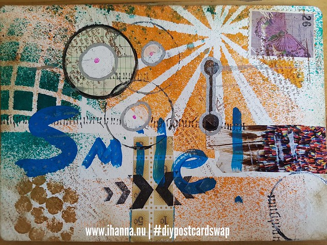 Happy mail in iHanna's Postcard Swap - Smile - Postcard from Tameko, US