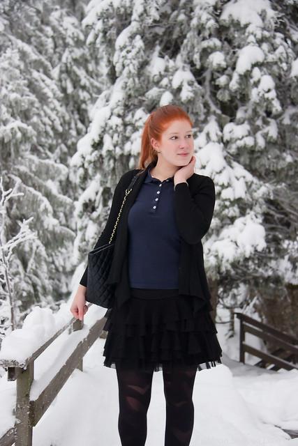 Päivän asu Koli talvi tyylibloggaaja