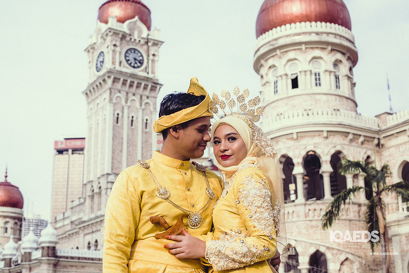 Malay wedding photography