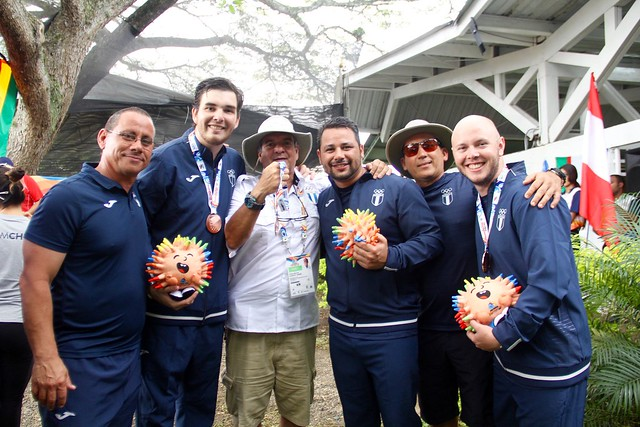 Día 7, tiro deportivo Juegos Bolivarianos en Cali