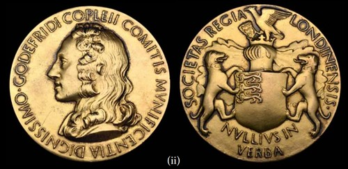 Hevesy Royal Society's Copley Medal