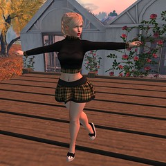 [AF] Luabela Jumper and Mini Skirt
