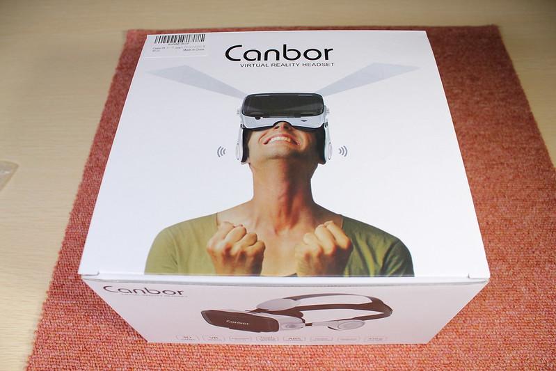 Canbor VR ゴーグル 開封レビュー (1)