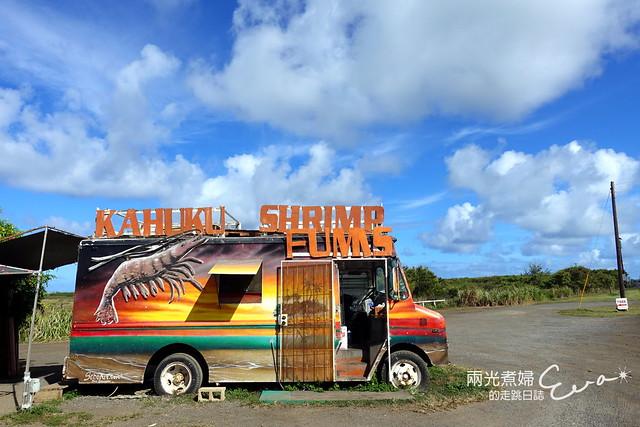 【美國夏威夷歐胡島】Fumi's Kahuku Shrimp北海岸蝦餐車