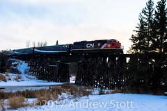 CN Christmas Train 2017