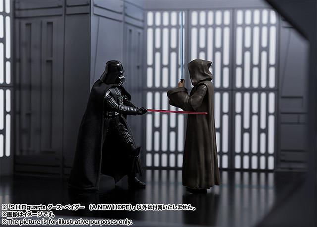 【新增高解析官圖】經典的師徒對決即將再現?! S.H.Figuarts《星際大戰四部曲:曙光乍現》黑武士 達斯·維德 Darth Vader (A NEW HOPE)