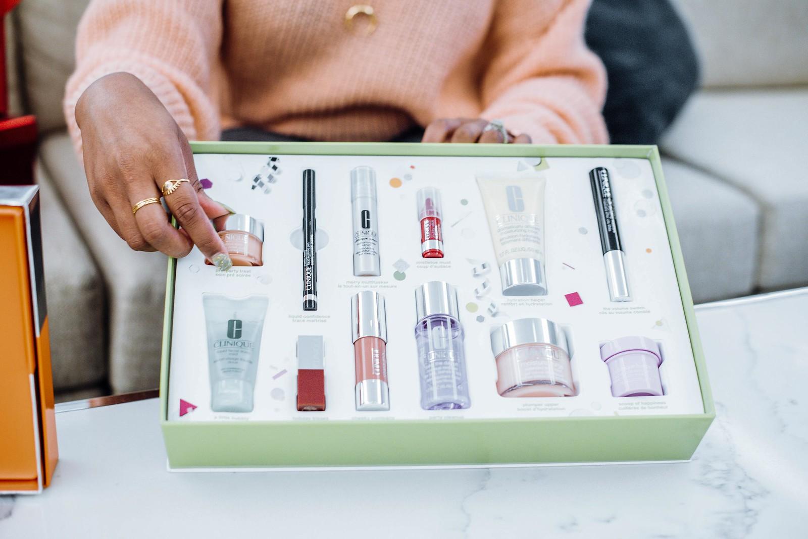 Clinique beauty gift set