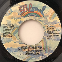 INSTANT FUNK:CRYING(LABEL SIDE-B)