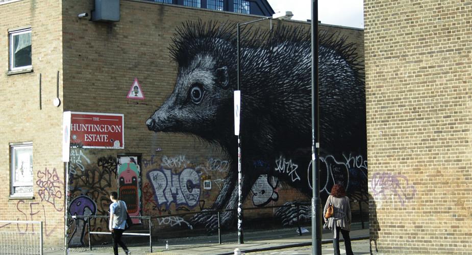 Gratis in Londen: street art in Londen | Mooistestedentrips.nl