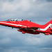 Red Arrow, on takeoff